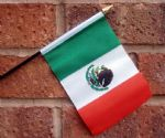 HAND WAVING FLAG (SMALL) - Mexico